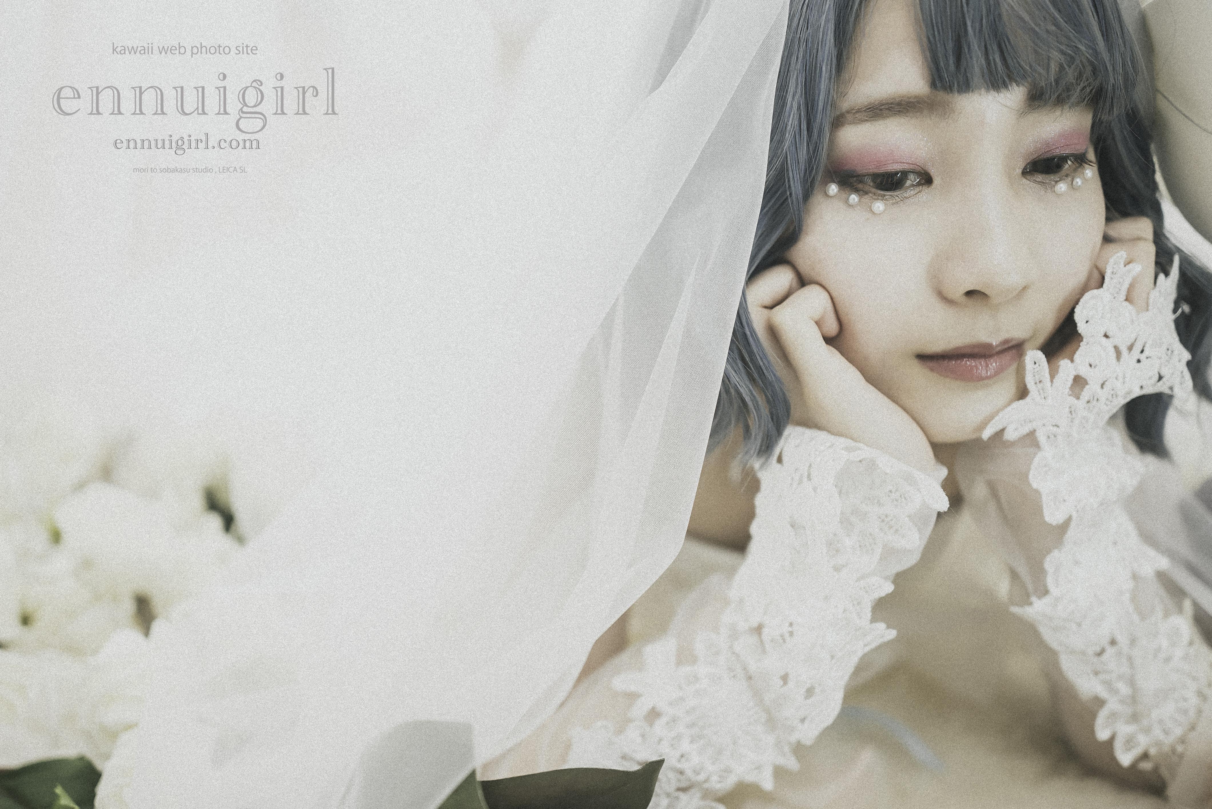 藤井葉月 white veil jelly fish~ 幸白心青 ~